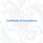 Certificate of Incumbency, suitable for your offshore company