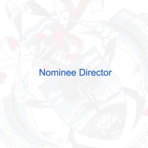 Why a Nominee Director is important