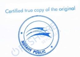 Notarielle Beglaubigung durch einen Notar auf den Seychellen