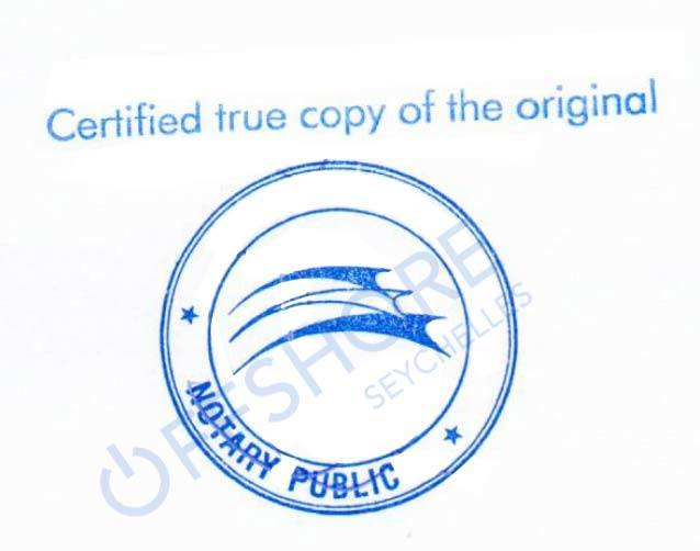 Notarius publicus i Seychellerna